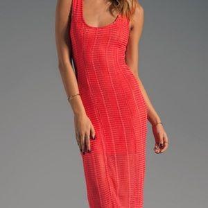 Lovers+Friends midi length knit  dress